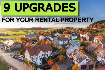 upgrades for your rental property